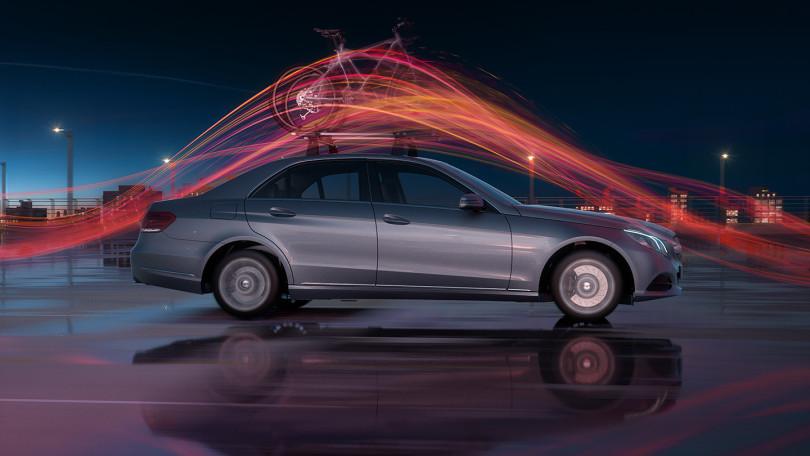 Mercedes-Benz-Accessories E-Klasse Product Trailer Pitch Layouts by Lichtgestalten